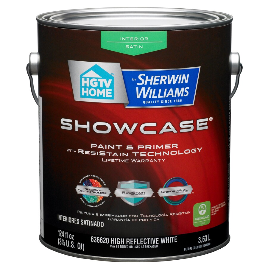 Shop Hgtv Home By Sherwin Williams Showcase White Satin