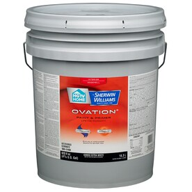 ... White Latex-Base Paint Paint and Primer In One (Actual Net Contents