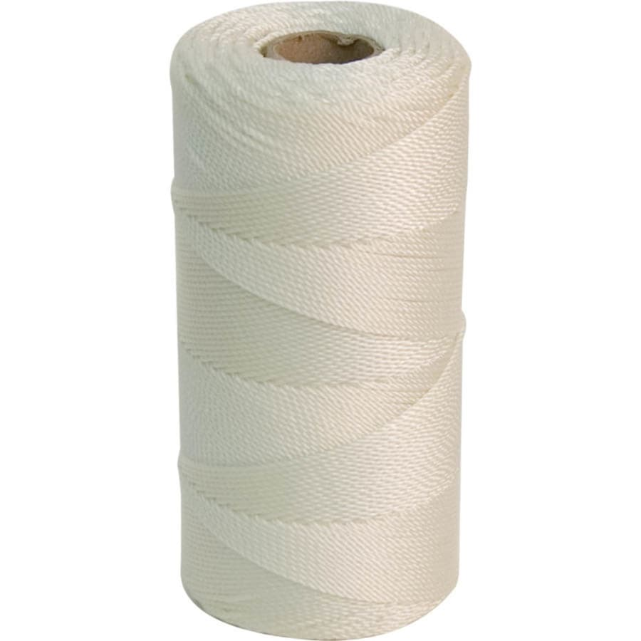 Marshalltown 1,000-ft White Nylon Mason Line