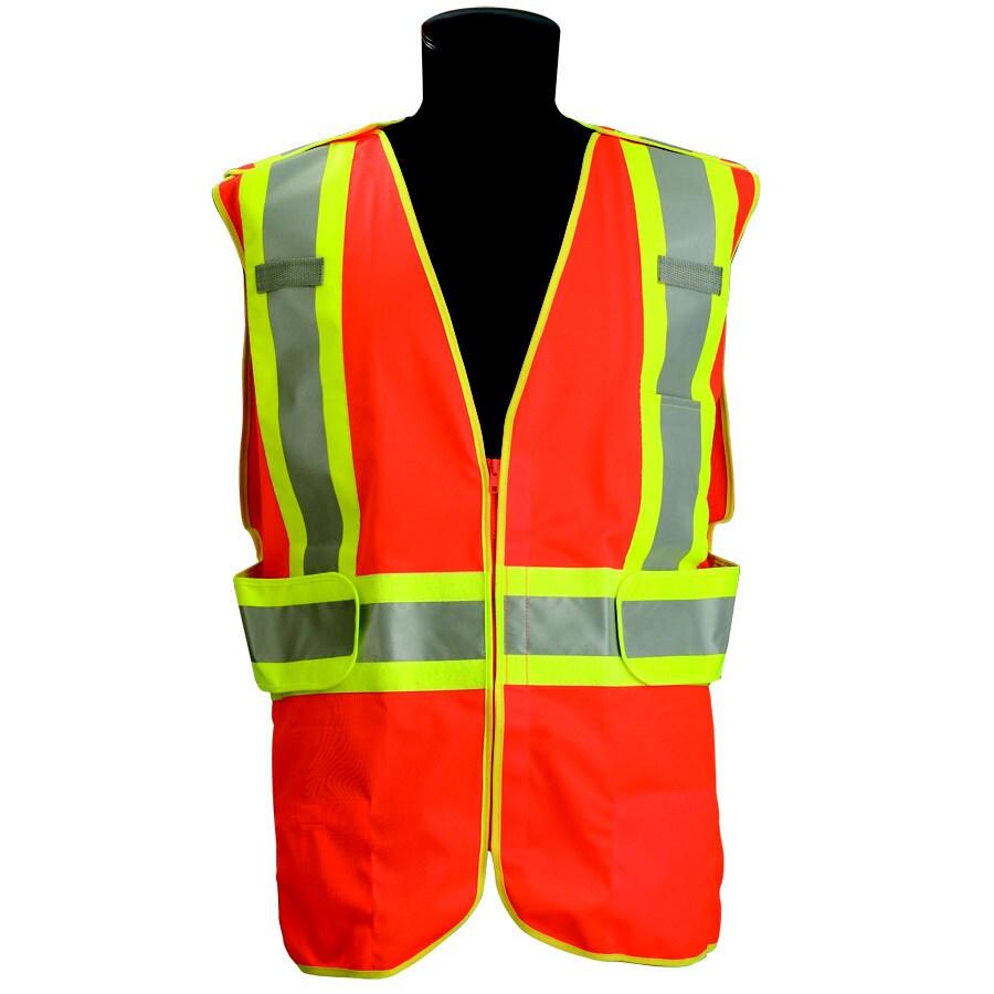 JACKSON SAFETY Brand Class 2 Orange Vest