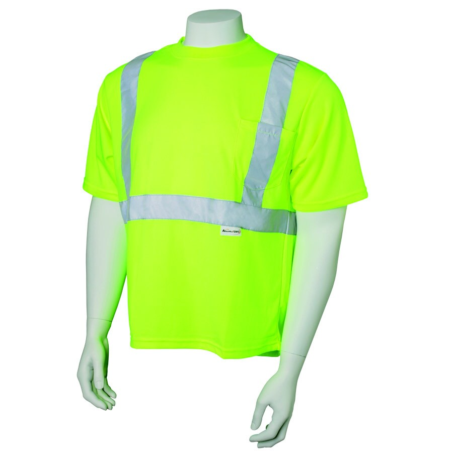 JACKSON SAFETY Brand Lime Short Sleeve T-Shirt