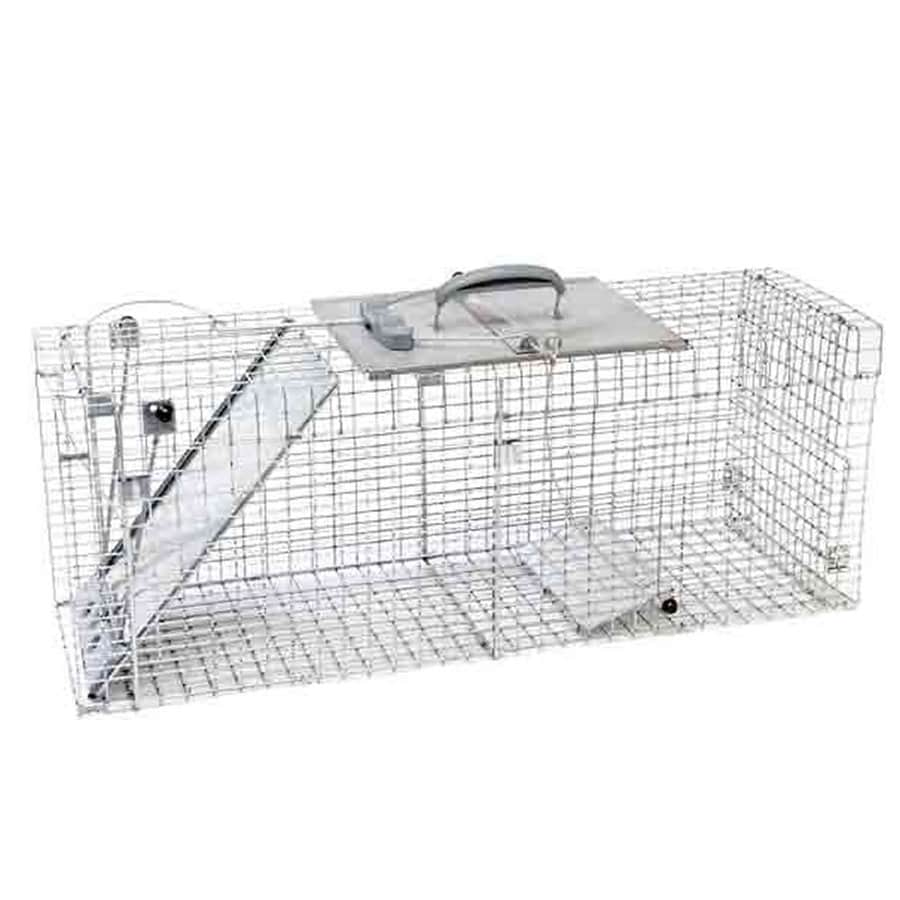 Havahart 39.3-in x 11.75-in x 12-in Steel Animal Trap