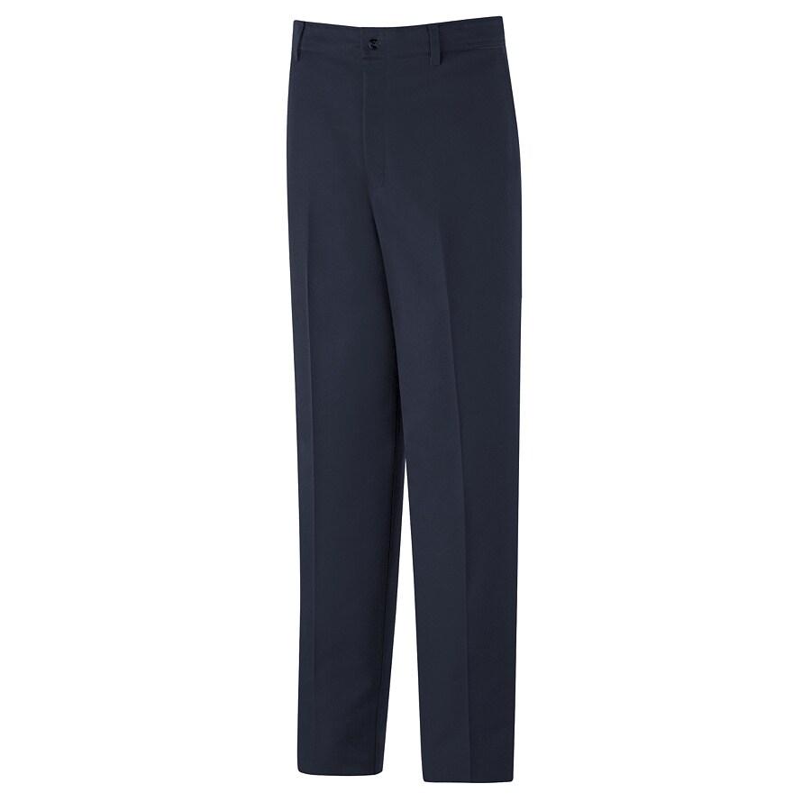 Red Kap Men's 42 x 30 Navy Twill Work Pants