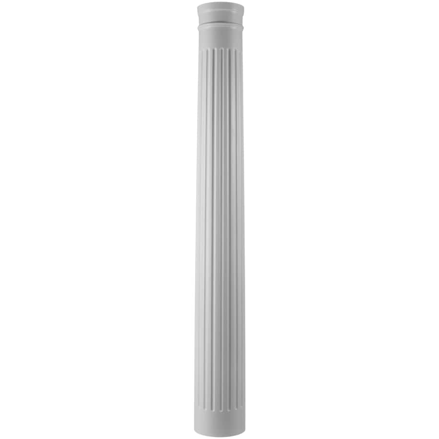 Turncraft 11.625-in x 7.583-ft Unfinished Pine Wood Fluted Round Column