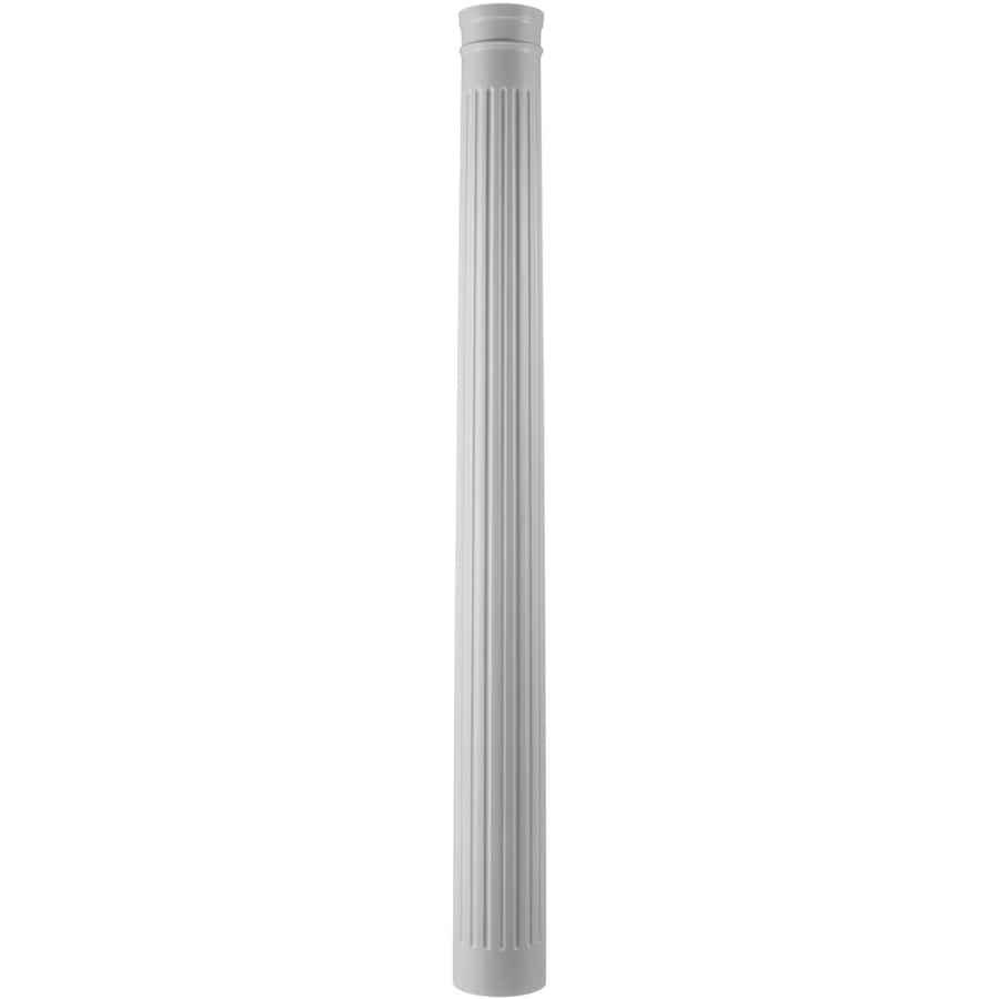 Turncraft 11.625-in x 9.583-ft Unfinished Pine Wood Fluted Round Column