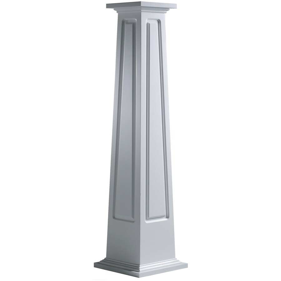 Shop turncraft craftsman 71 5 in l x h unfinished Craftsman columns