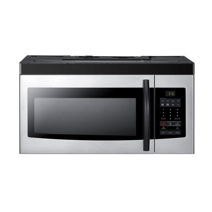 Samsung 1.6 cu ft Over-the-Range Microwave (Platinum)