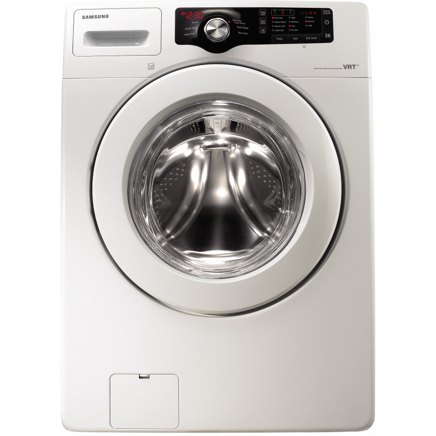 Samsung 3.5-cu ft High-Efficiency Stackable Front-Load Washer (White)