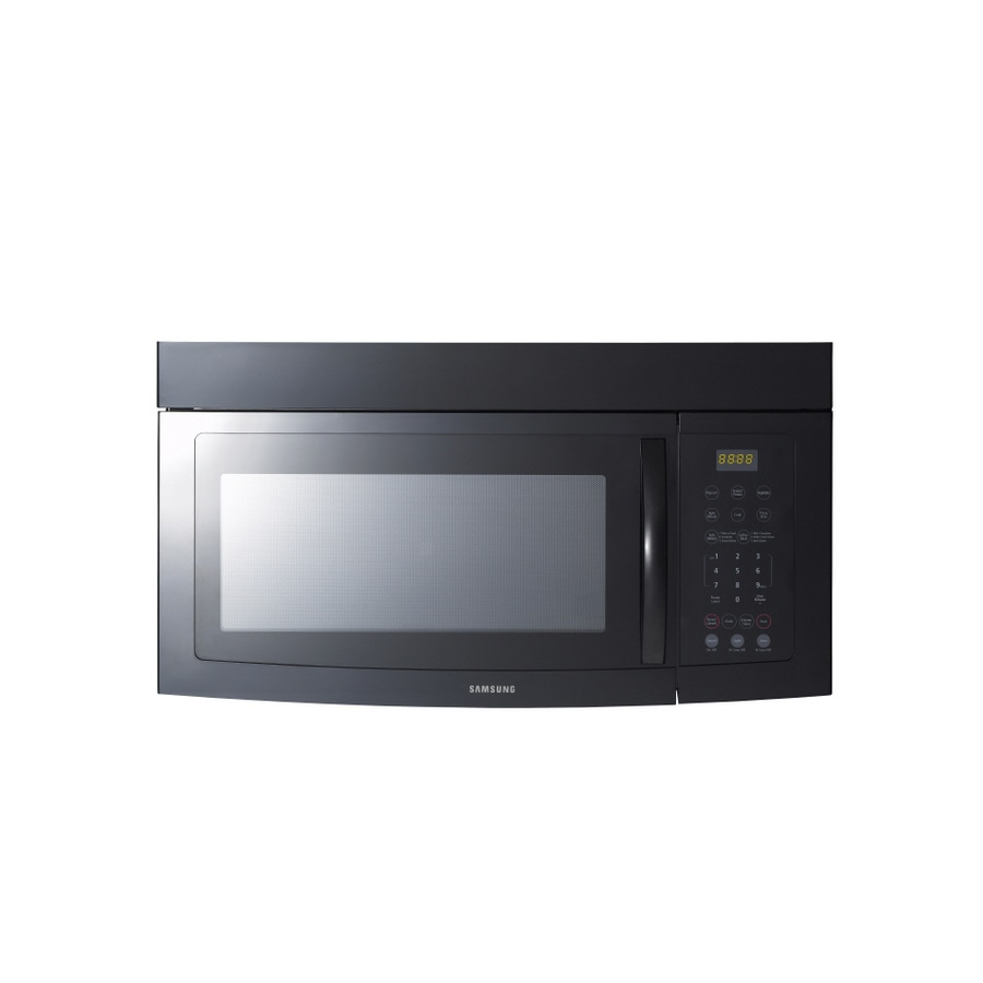Samsung 1.5-cu ft Over-the-Range Microwave (Black)