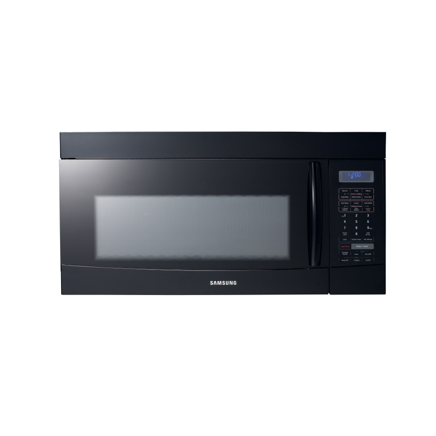 Samsung 1.8-cu ft Over-the-Range Microwave with Sensor Cooking Controls (Black)