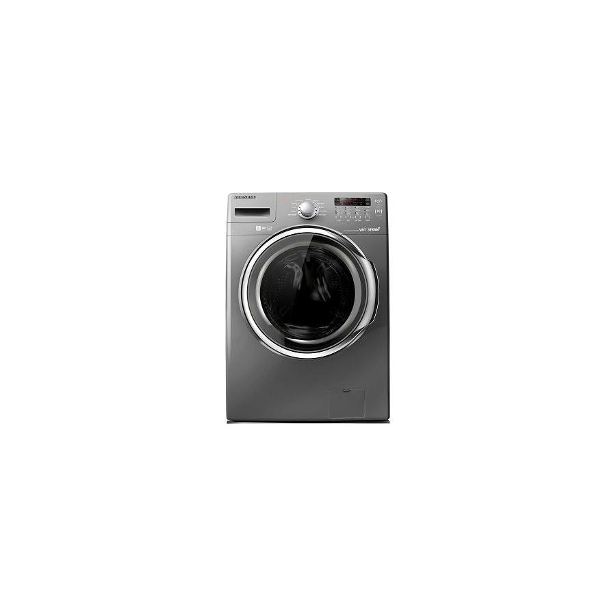 Samsung 3.7-cu ft High-Efficiency Stackable Front-Load Washer with Steam Cycle (Platinum)