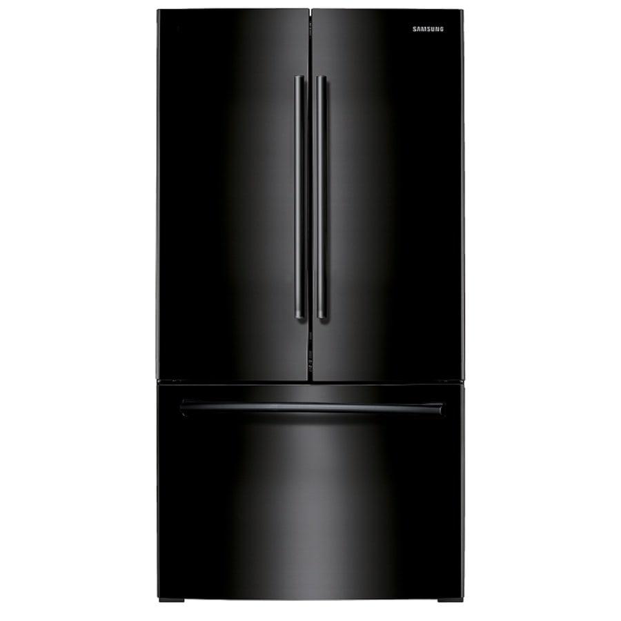 Shop samsung 25 5 cu ft french door refrigerator with for 19 5 cu ft french door refrigerator