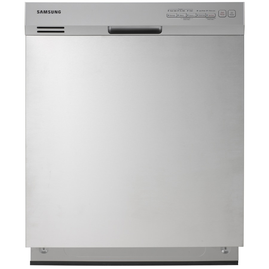 Samsung 50-Decibel Built-in Dishwasher with Hard Food Disposer (Stainless Steel) (Common: 24-in; Actual: 23.875-in) ENERGY STAR