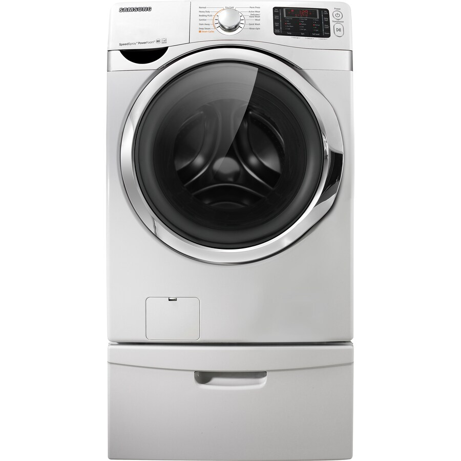 Samsung 4.3 cu ft Front-Load Washer (White) ENERGY STAR