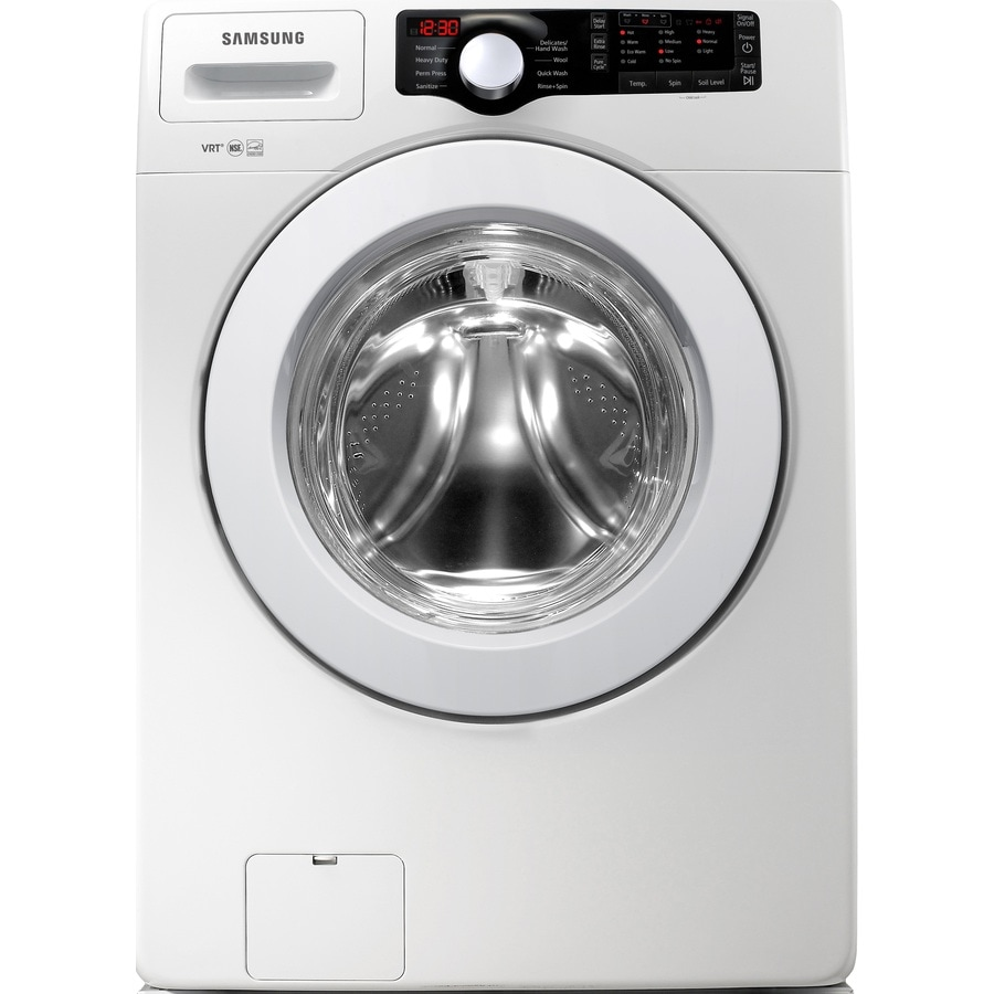 Samsung 3.6-cu ft High-Efficiency Stackable Front-Load Washer (White)