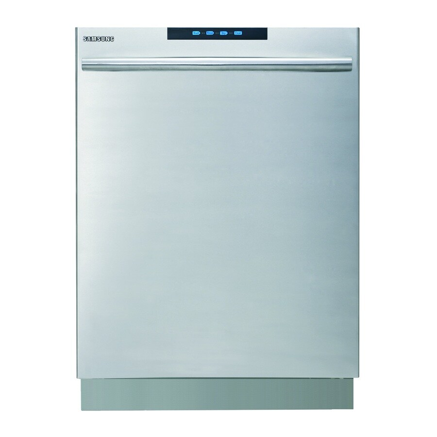 Samsung 49-Decibel Built-In Dishwasher with Hard Food Disposer and Stainless Steel Tub (Stainless Steel Tub) (Common: 24-in; Actual: 23.9-in) ENERGY STAR