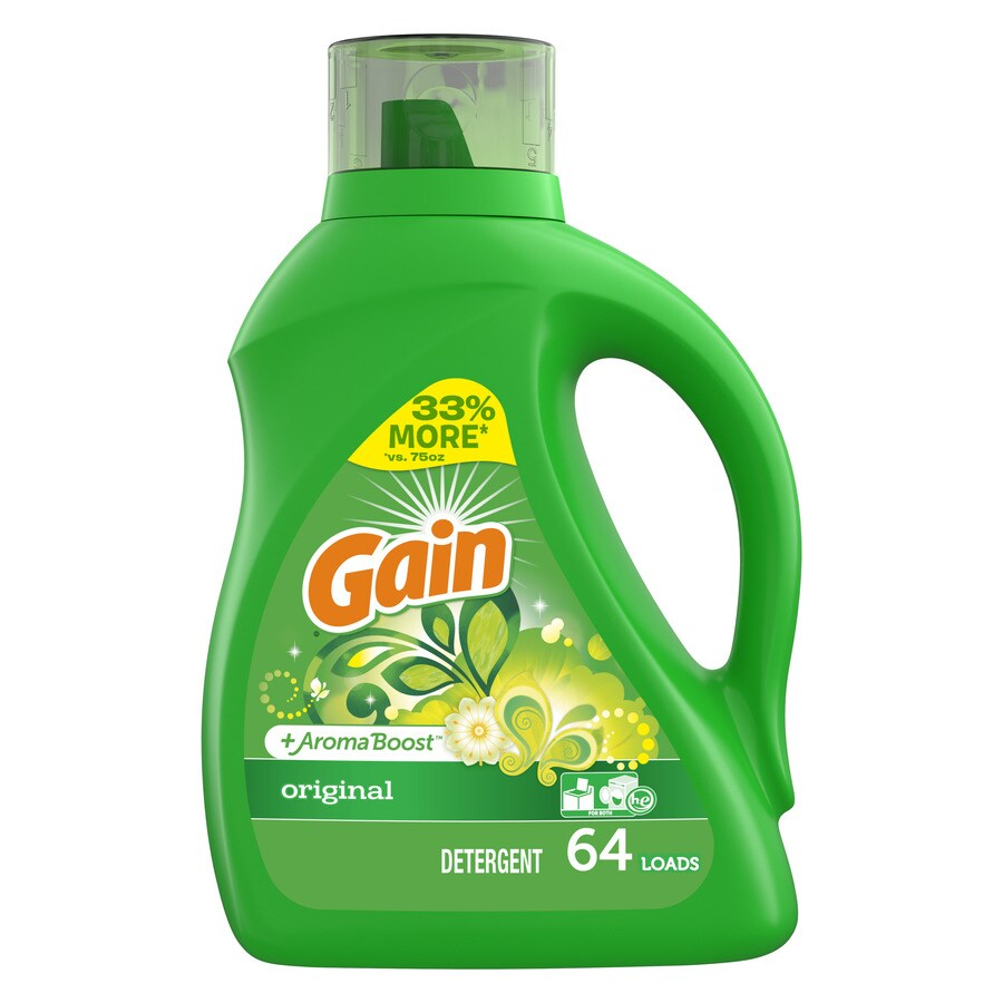 Gain Liquid 100-fl oz Original HE Laundry Detergent