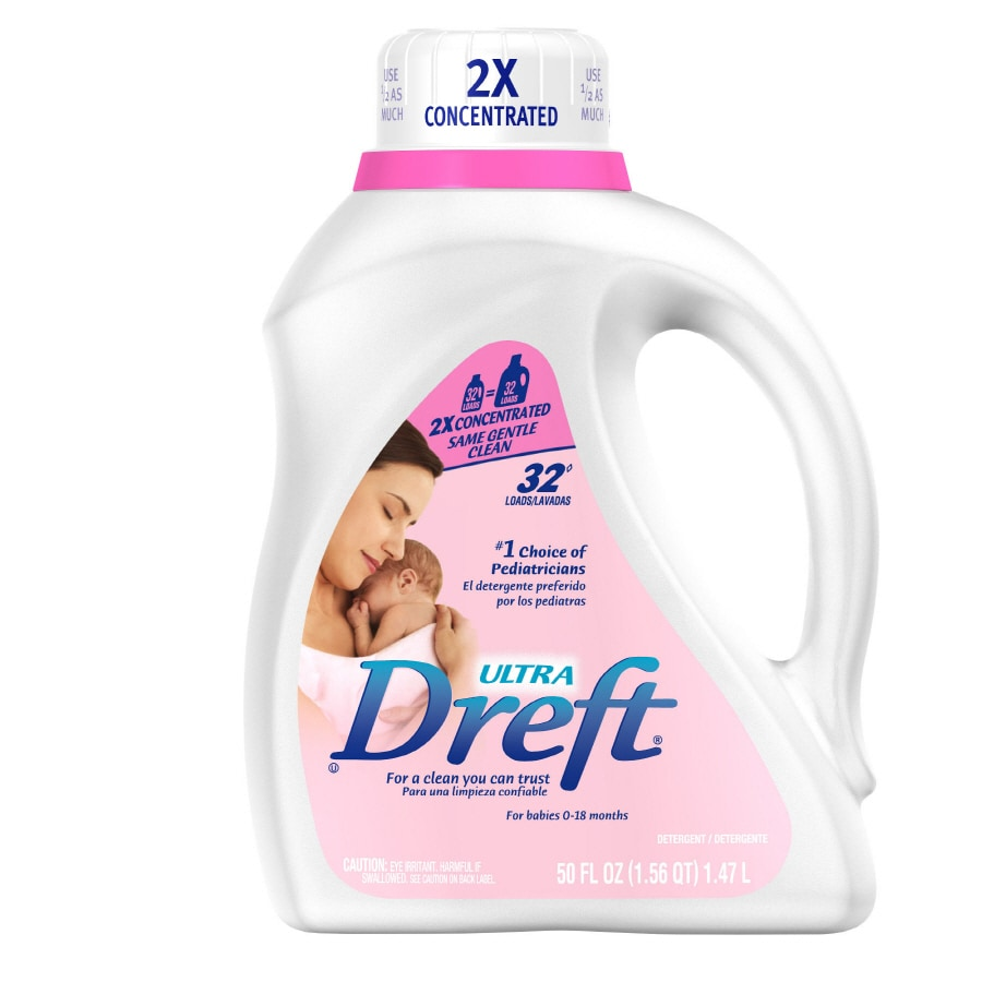 Shop dreft liquid 50 oz original laundry detergent at lowes com