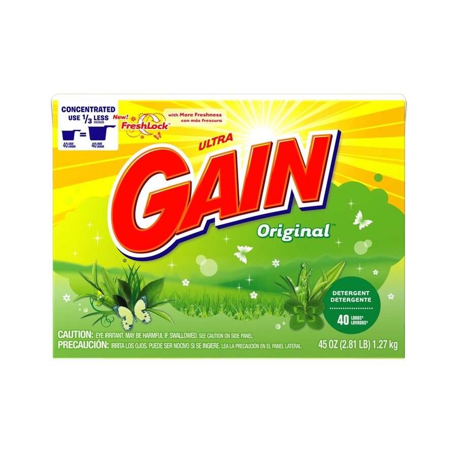 Gain 45-oz Powder Detergent with FreshLock Original Scent