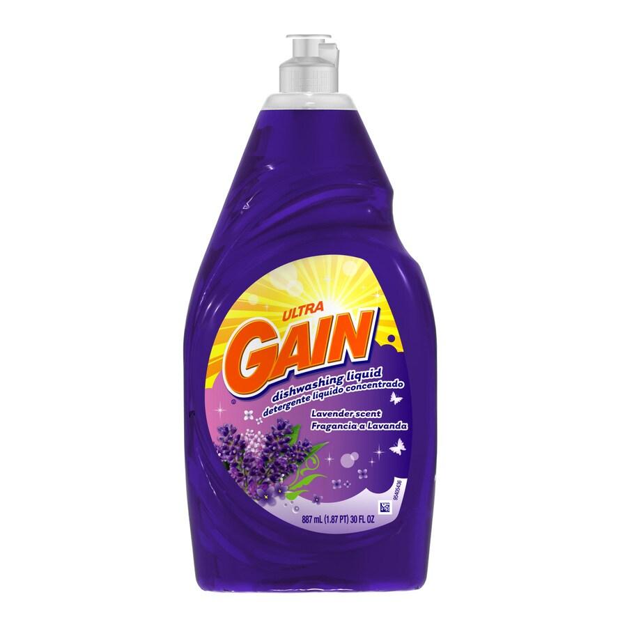 Gain 30-oz Dishwashing Liquid Lavender