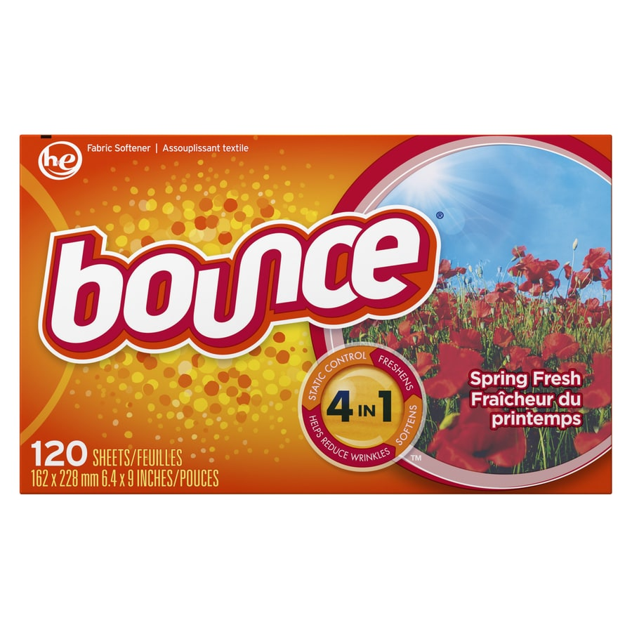 Bounce 120-Pack Fabric Softener