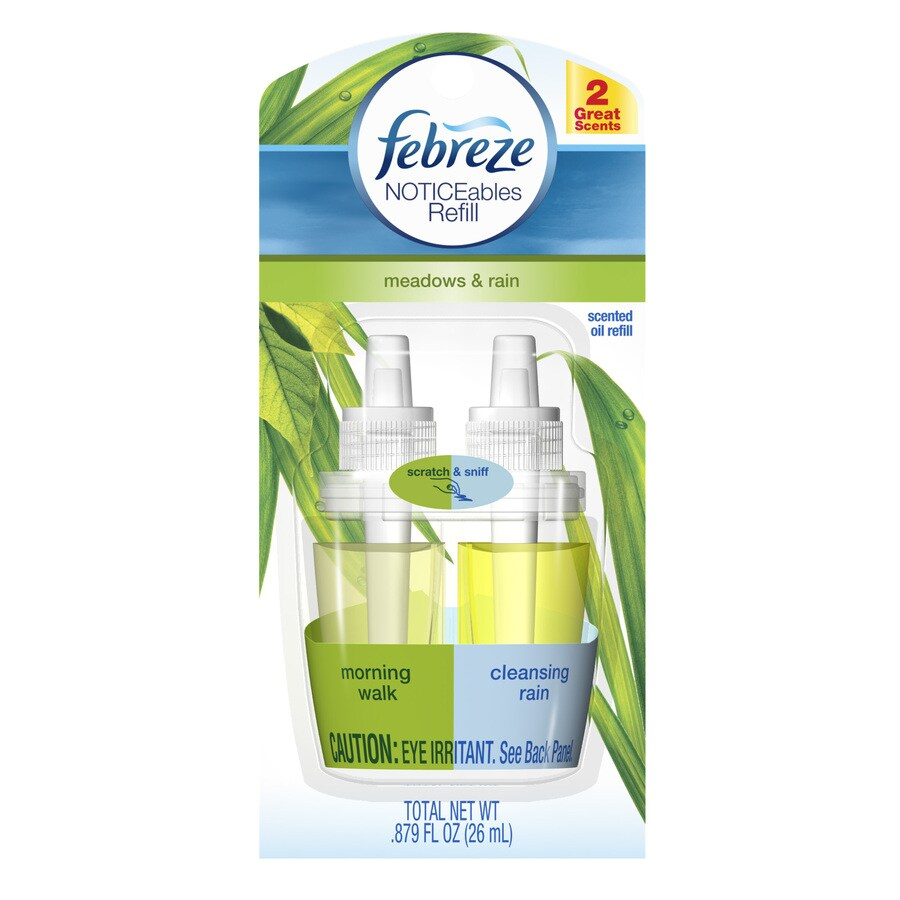 Febreze Noticeable Rain Plug-in Electric Air Freshener Refill