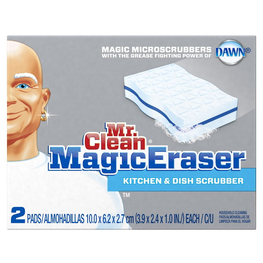 Mr Clean 2-Pack Poly Fiber Scouring Soap Pad