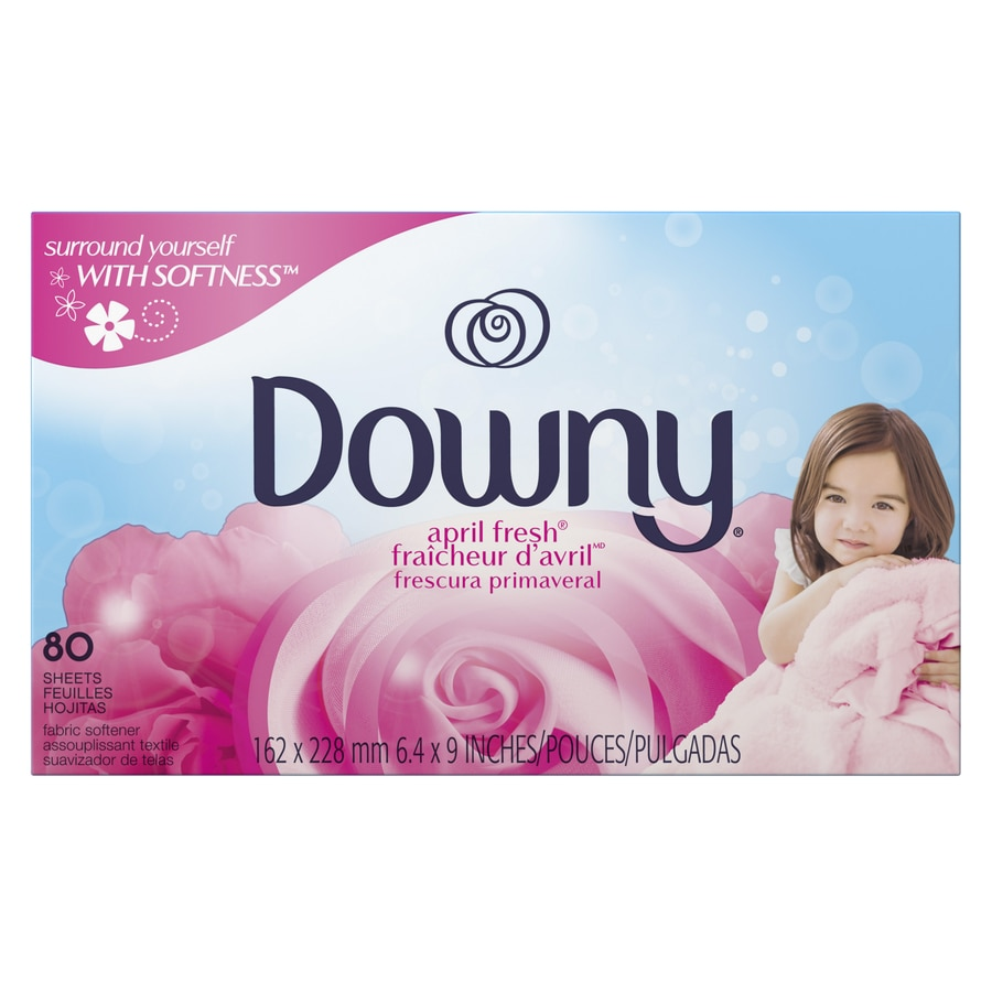 Downy 80-Count April Fresh Sheets