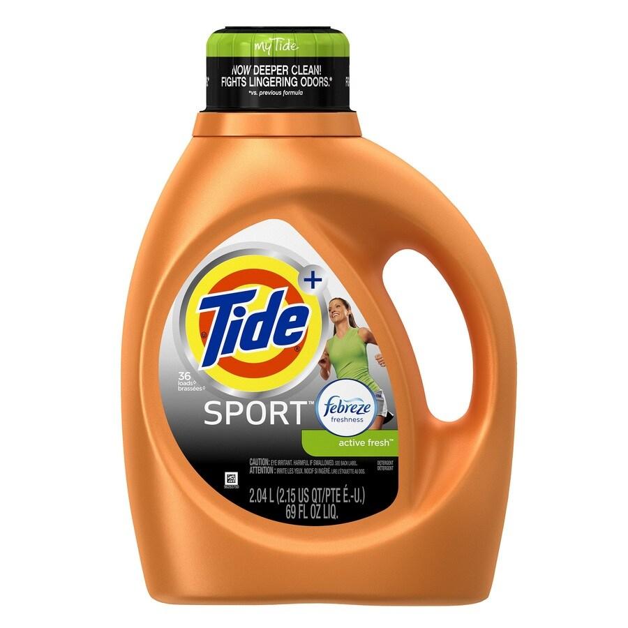 Tide 69-fl oz Active Fresh Laundry Detergent