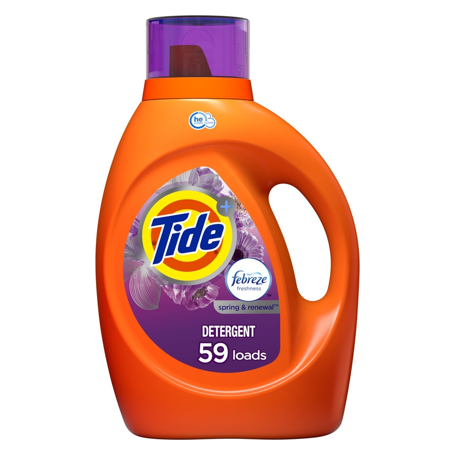 Tide 92-fl oz Spring and Renewal HE Laundry Detergent