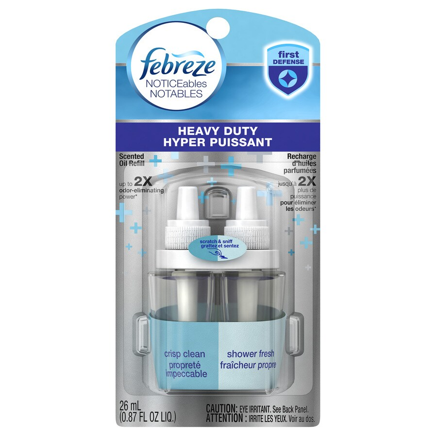 Shop febreze noticeables crisp clean plug in electric air for Air freshener plug in