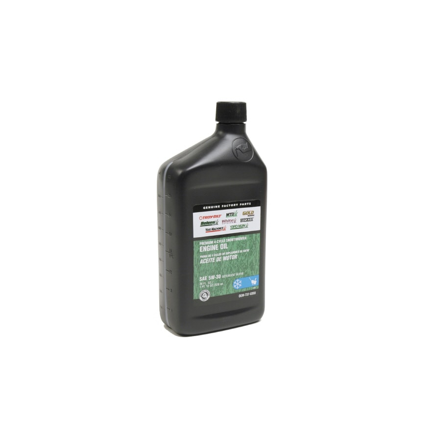 Troy-Bilt 4-Cycle Snow Thrower Engine Oil