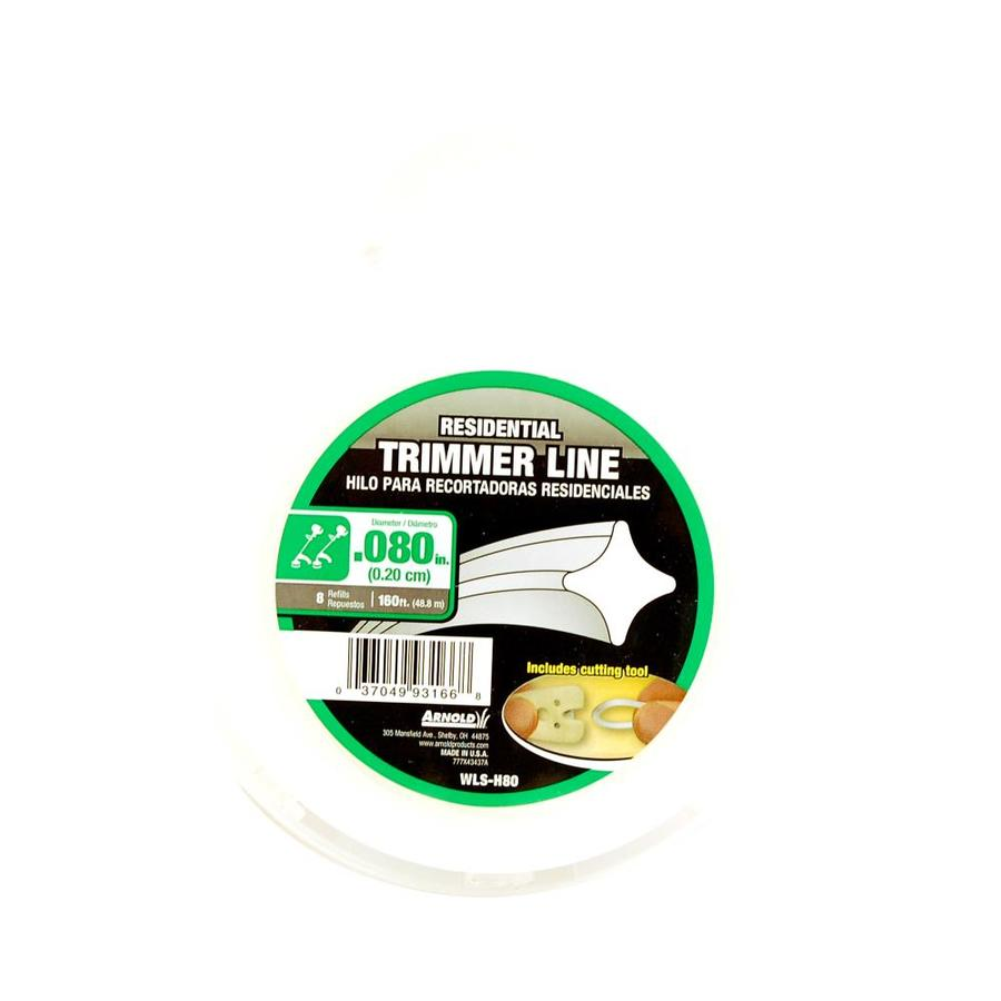 Arnold 160-ft Spool 0.08-in Trimmer Line