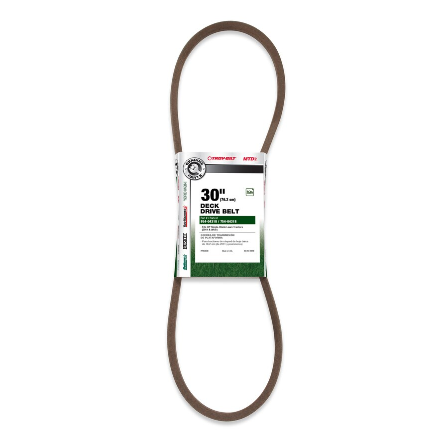 Troy-Bilt Deck/Drive Belt for Riding Mower/Tractors