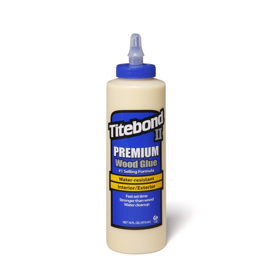 Titebond Yellow Interior/Exterior Wood Adhesive (Actual Net Contents: 16 Fluid Oz.)