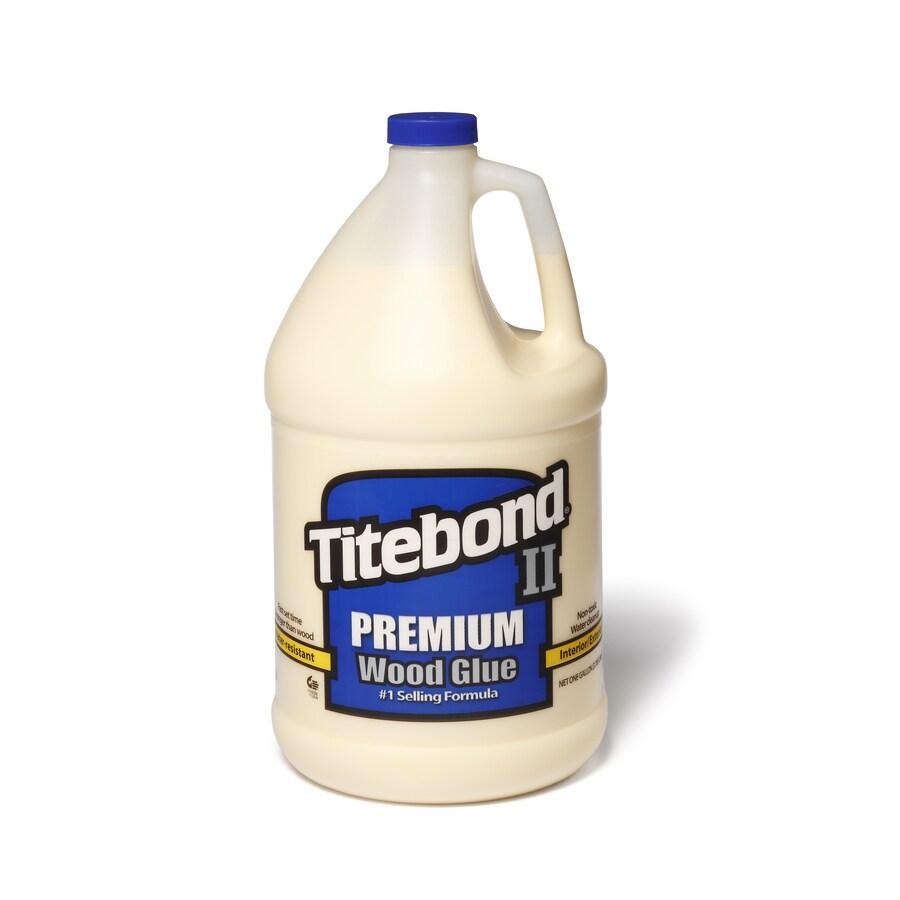 Titebond Yellow Interior/Exterior Wood Adhesive (Actual Net Contents: 128 Fluid Oz.)