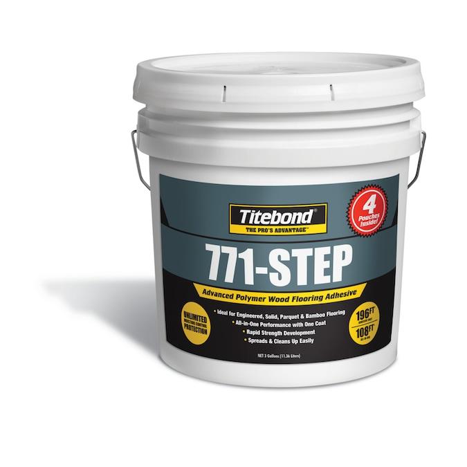 771-Step Titebond 98sq//ft Coverage Wood and Laminate Flooring Adhesive