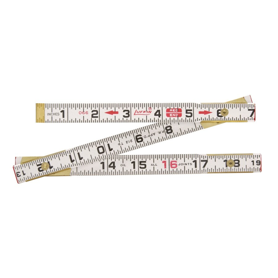 Lufkin 6-ft SAE Ruler