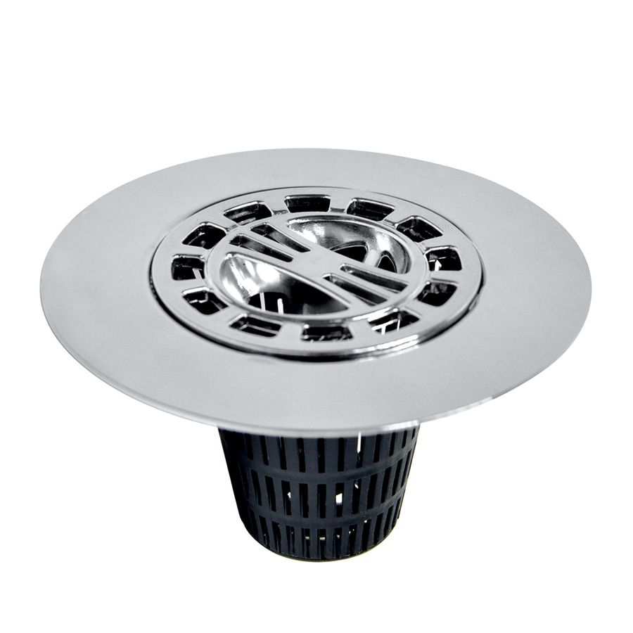 Danco Chrome Metal Drain Cover with Hair Catcher Basket