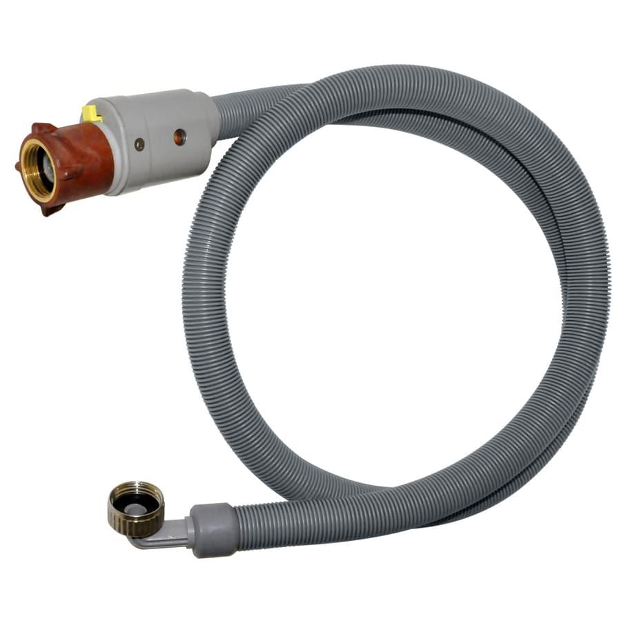 Danco 2-Pack 6-ft 180-PSI PVC Washing Machine Connectors