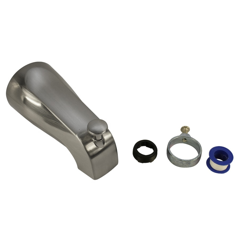 Danco Nickel Tub Spout with Diverter