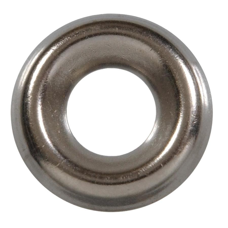 The Hillman Group 18-Count #6 Stainless Steel Standard (SAE) Finishing Washers