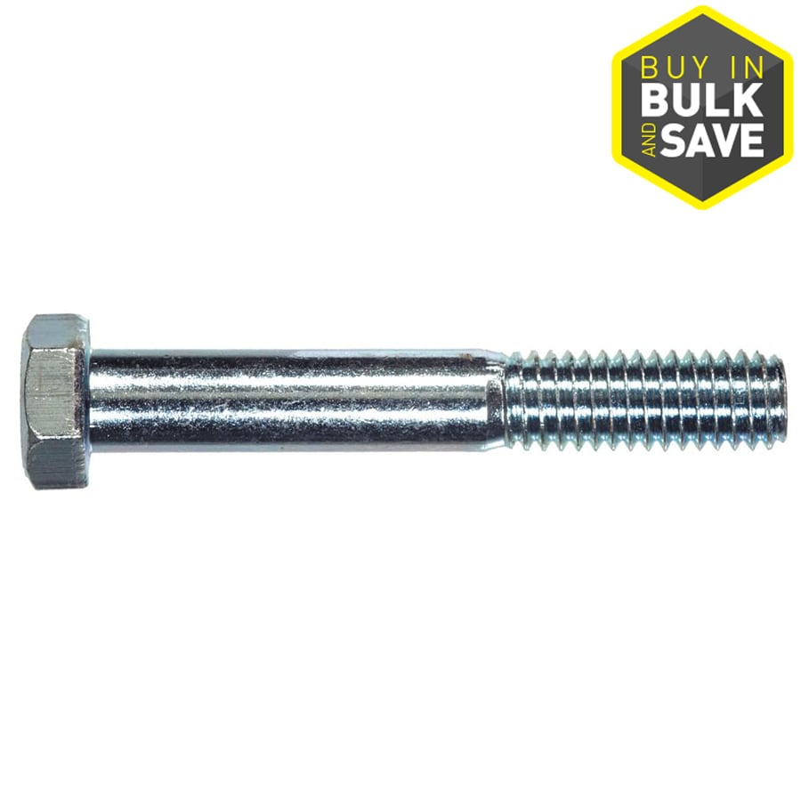 The Hillman Group 8-in Zinc-Plated Standard (SAE) Hex Bolt