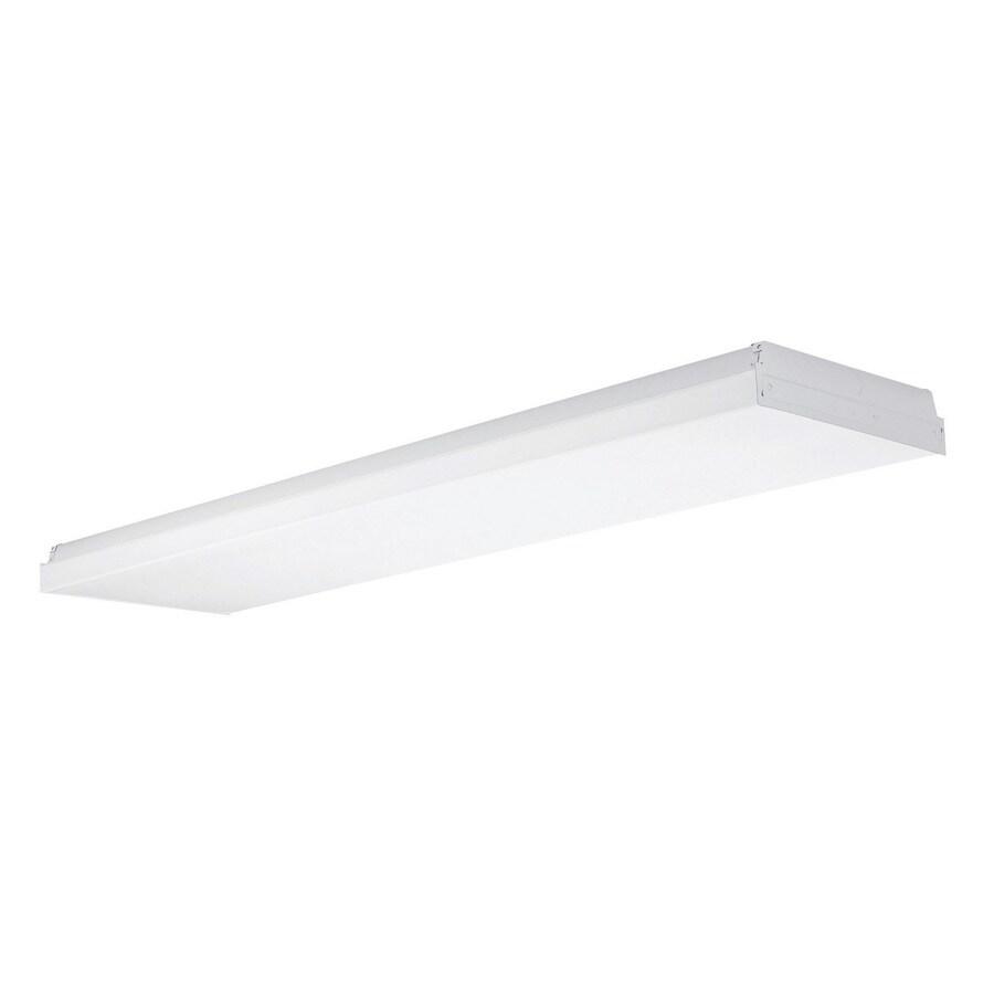 Shop Utilitech White Acrylic Ceiling Fluorescent Light