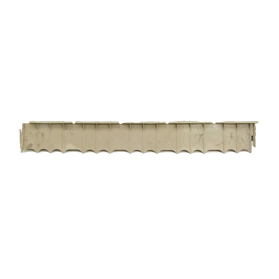 Garden Treasures 3-ft Beige Plastic Landscape Edging Section