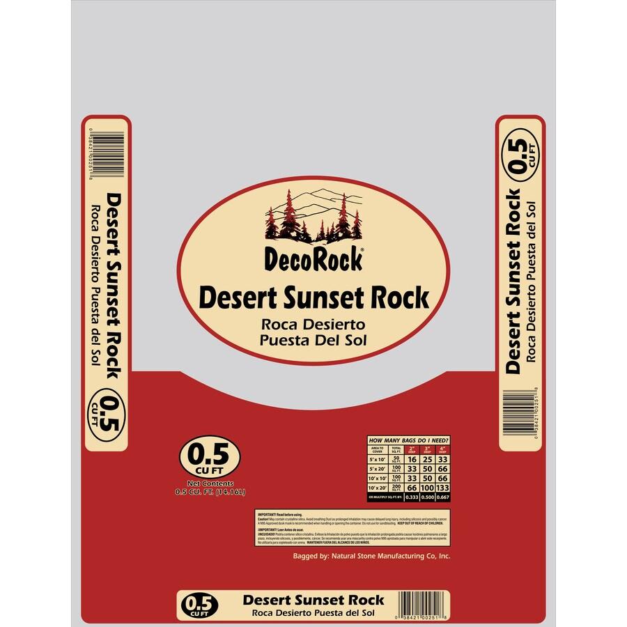 0.5-cu ft Desert Sunset Rock