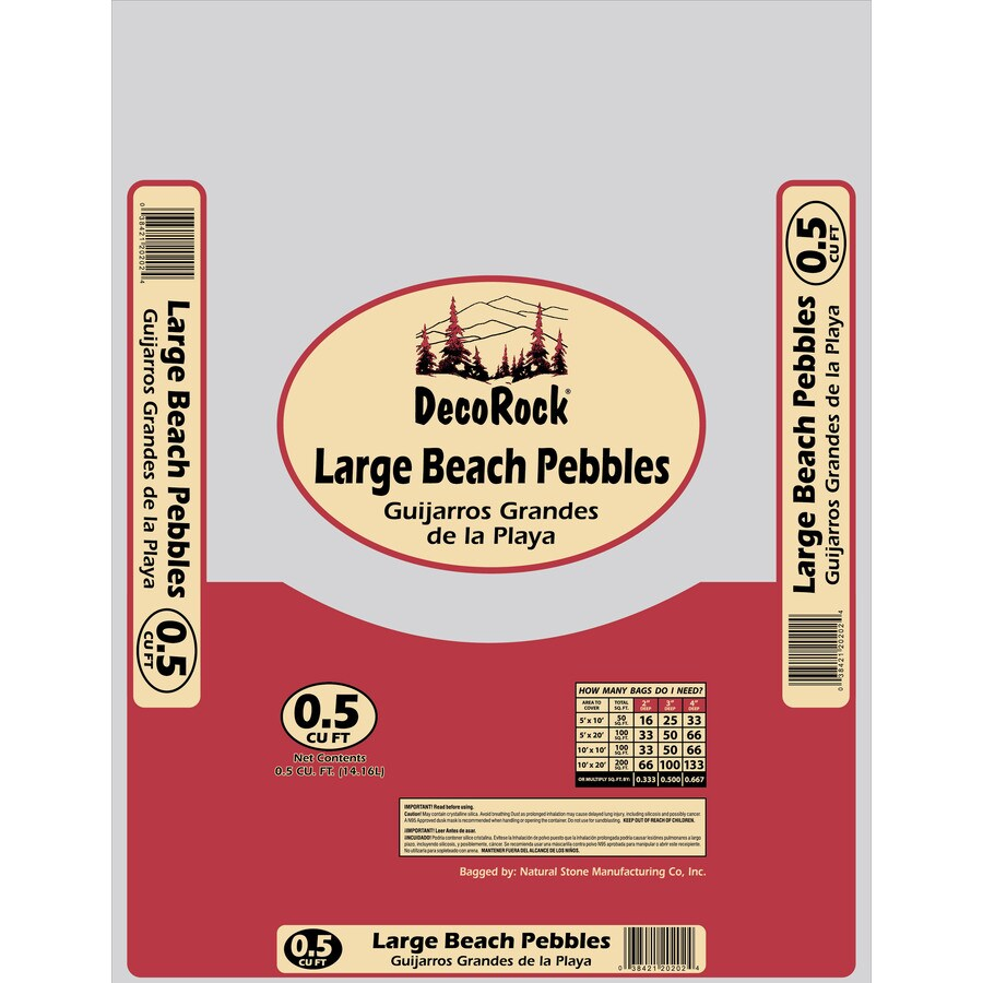 0.5-cu ft Large Mexican Beach Pebbles