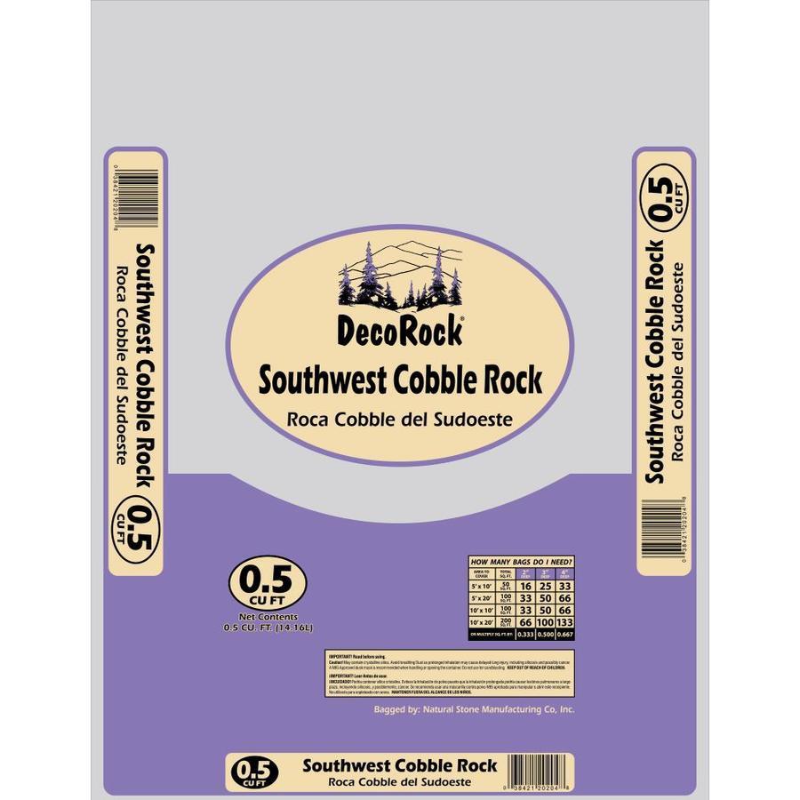 0.5-cu ft Southwest Cobble Rock