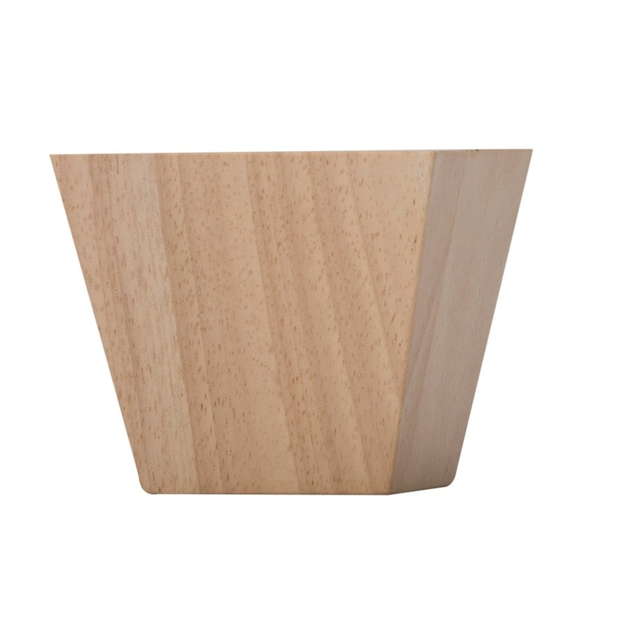 Shop waddell ash sofa table leg actual 325 in x 475 in for Furniture leg pads lowes