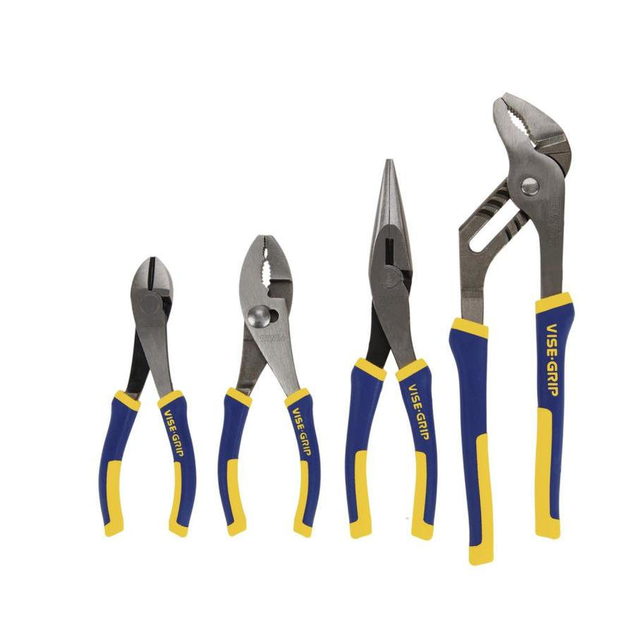 IRWIN VISE-GRIP 4-Pack Traditional Plier Set